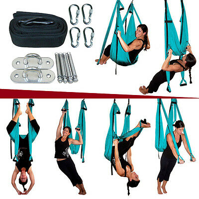Inversion Therapy Anti-Gravity Yoga Swing Hammock Pilates Aerial Complete set