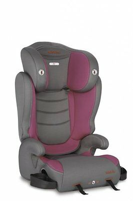 Diono Cambria Highback BOOSTER CAR SEAT, LATCH System BABY CAR SEAT, Raspberry