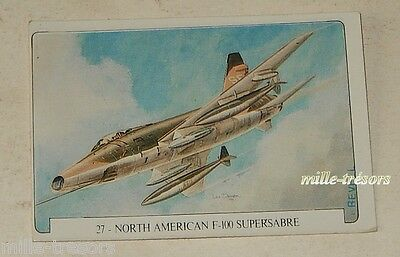 Image Collection AVION : NORTH AMERICAN F-100 SUPERSABRE - Signée REVELL