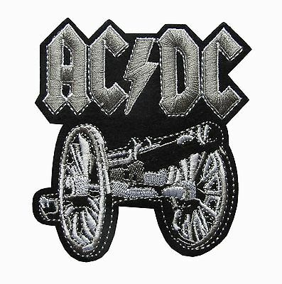 "AC/DC,ACDC Highway To Hell Hard Rock,Rock Music Embroidery Patch-3-1/2""x4""H"