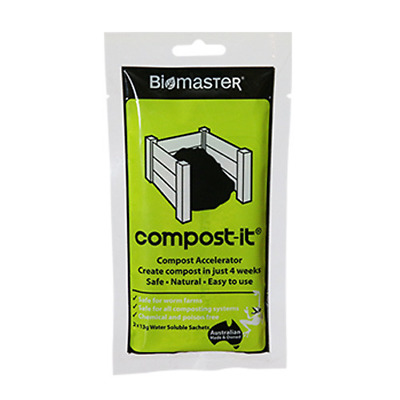 NEW Compost It(R), 2-Pack - Compost Accelerator Biomaster