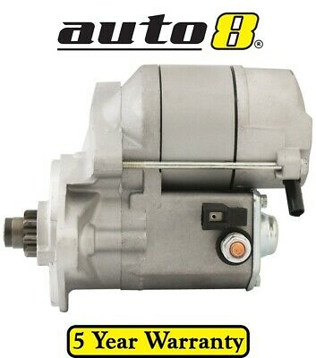 New Starter Motor to fit Holden Rodeo KB TF 2.3L Petrol (4ZD1) 1985 to 1993