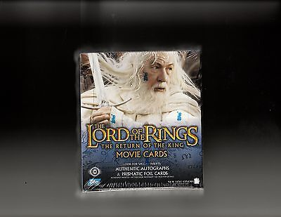 Lord of the Rings Return of The King sealed Box