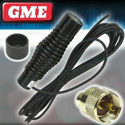 Gme Heavy Duty Black Spring Base & Lead Assembly Only Ae4705 Series Of Antennas
