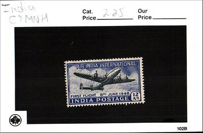 India Scott C7 MNH Low Combined Shipping