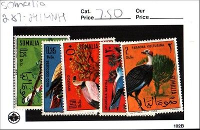Somalia Scott 287-291 MNH Low Combined Shipping