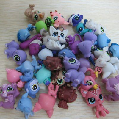 10 Pcs Hasbro Littlest Pet Shop Collection LPS Mini Baby Figure Toys Animals