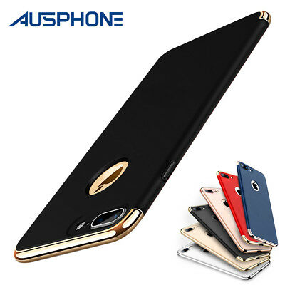 iPhone X XS Max XR 6S 7 8Plus Shockproof Luxury Thin Hybrid Slim Hard Case Cover