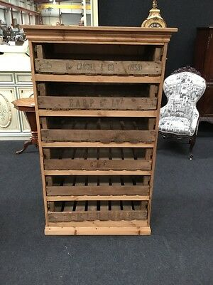 Victorian Design Pine Bakers Rack Ideal Farmhouse Kitchen Country Design Rare