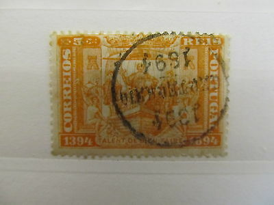 A1P4 PORTUGAL 1894 5r USED