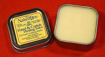 The Naked Bee 1- 1.5oz Hand & Cuticle Healing Salve Natural Organic