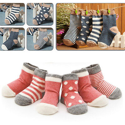 4 Pairs/set Socks Fashion Kids Lovely Baby 0-3 Years Soft Cotton Newborn Infant
