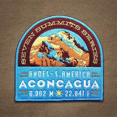 Aconcagua Seven Summits Patch