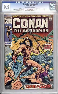 Conan the Barbarian # 1  The Coming of Conan !  CGC 9.2 scarce book !!