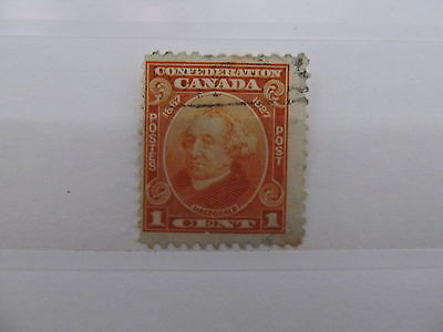 A1P5 CANADA 1927 1c USED