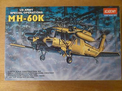 1:48 Academy Nr. 2153 MH-60K US Army Special Operations. Bausatz. OVP