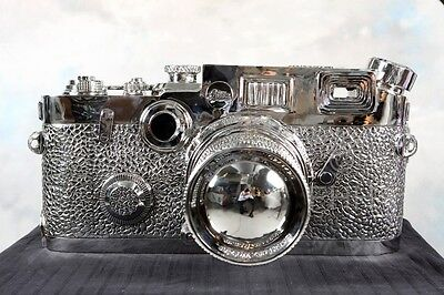 """Rare And Sold Out Famous Sculpture """"fake Leica"""" By Liao Yibai !!!"""
