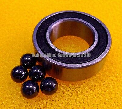 10PC S6803-2RS (17x26x5 mm) Stainless Steel Hybrid Ceramic Ball Bearings 17*26*5