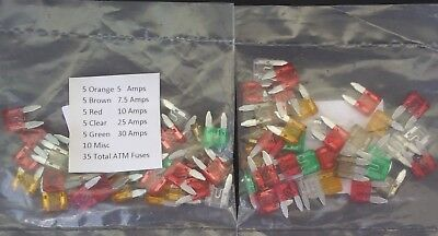 ATC & ATM BLADE FUSES ASSORTMENT KITS Auto Car Motorcycle Boat SELECT: Fuse Kit