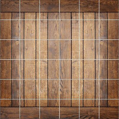 Stickers Tile Wall Deco Wood 1911