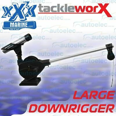 Xxx Marine Manual Downrigger Tournament Fishing Game Boat Mount Large Rhplmdr
