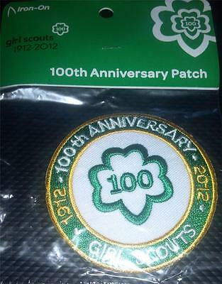 2012 Girl Scout 100th Anniverssary Patch - NEW Trefoil