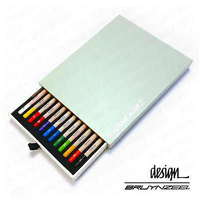 Bruynzeel - High Quality & Durable - Pastel Pencils - Artist Box 12
