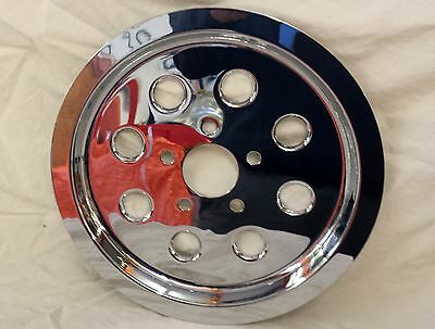 Chrome 65T Pulley Cover 82-99 Harley Davidson Big Twin Repl. 40317-94