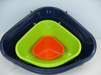 Small Animal eco Corner Toilet Litter Tray for Rabbits, Guinea Pigs, Degu's