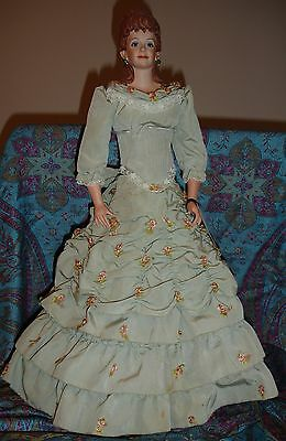 "Lovely ""Sheila"" Doll (Maggie Head Kane) by Suben - 21 Inches Tall"