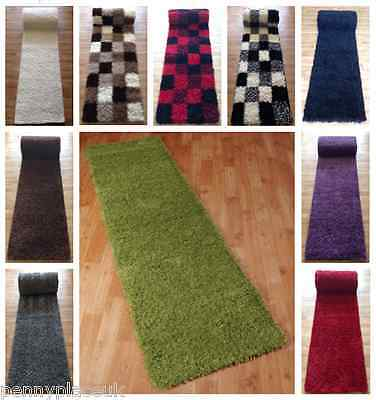 Protect Your Floor Shaggy Rug Runners Thick Pile  Hard Wearing Non Shedding