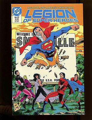 Legion of Super-Heroes (3rd Ser. 1984) #37 NM Lightle LaRoque Death of Superboy