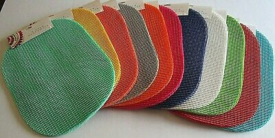"""VINYL PLACEMATS Set of 4 by Town & Country Living  ASSORTED COLORS 13"""" x 18"""""""