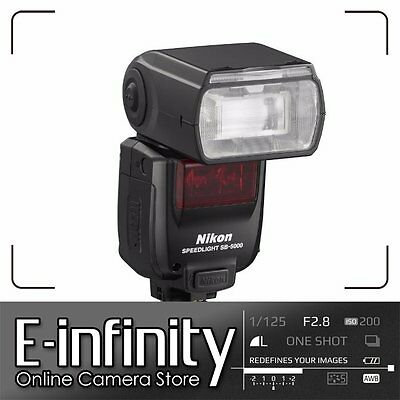 NEW Nikon SB-5000 AF Speedlight Radio Control Advanced Wireless Lighting