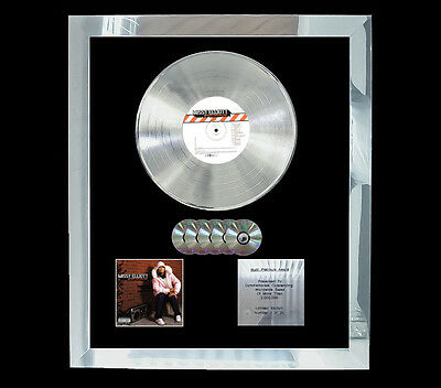 Missy Elliott Under Construction Multi (Gold) Cd Platinum Disc Free Post To U.k.