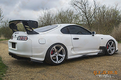 Toyota Supra mk4 Diffuser + Brackets Included Top Secret Style for Racing v4