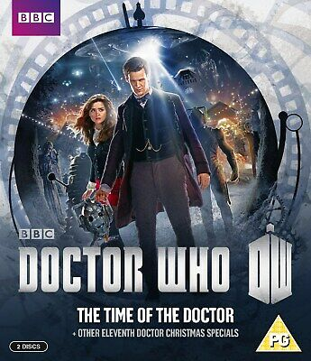 Doctor Who: The Time of the Doctor and Other Eleventh Doctor ... [Blu-ray]