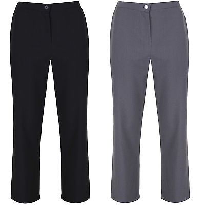 "Girls Plus Fit School Trousers Generous Fit Sturdy Fit Wider Waist 26""-42"" Waist"