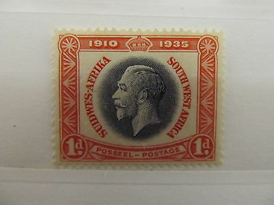 A1P7 SOUTH WEST AFRICA 1935 1d MH*