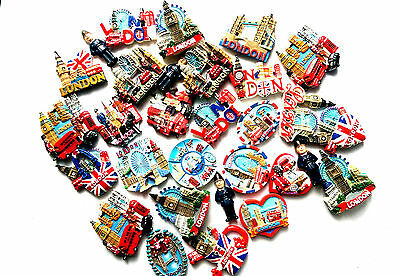 4X 3D FRIDGE MAGNETS POLYRESIN LONDON BRITISH SOUVENIR GIFT FROM UK Fast&Free