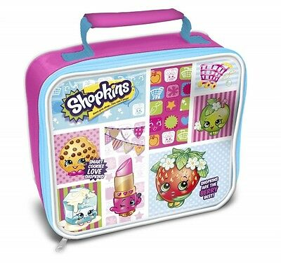 Shopkins Toys School Premium Lunch Bag Insulated Brand New Gift