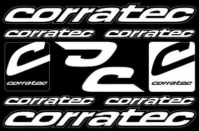 corratec bicycle frame decals stickers graphic set vinyl logo aufkleber adesivi