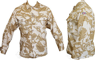 British Army Soldier 95 Issue Shirt Genuine Desert Camouflage New Grade 1 Jacket