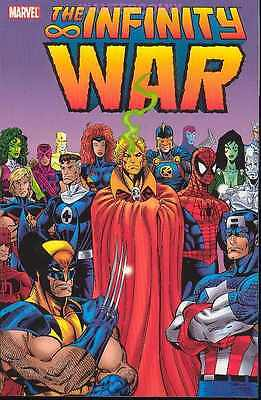 Infinity War Tpb 1 2 3 4 5 6 Warlock Avengers Thanos Watch 7 8 9 10 Marvel New 1