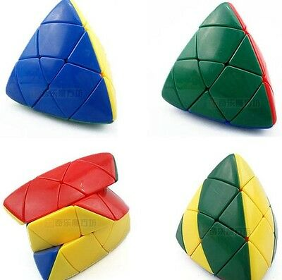 New Triangle Cube Magic Ultra-smooth Professional Speed Puzzle Twist Toy
