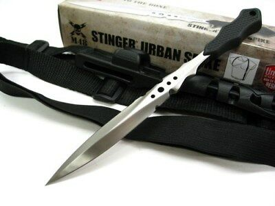 UNITED Cutlery Tactical M48 STINGER Fixed Dagger Knife + Shoulder Sheath! UC2936