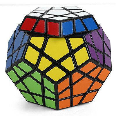New 12 Color Polygon Toy Megaminx Twist Puzzle Magic Cube High Challenge