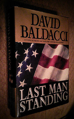 LAST MAN STANDING by David Baldacci HARDCOVER Crime thriller
