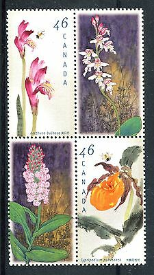 Canada 1999 Orchids  MNH