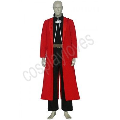 Custom Made Edward Elric Cosplay Costume from FullMetal Alchemist